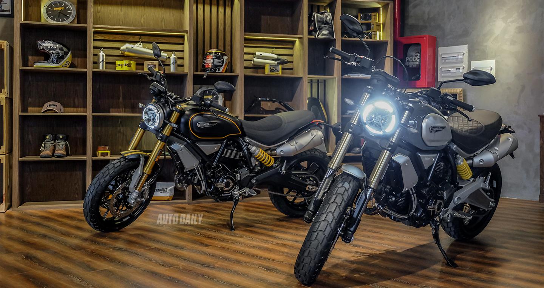 Ducati Scrambler 1100 và Scrambler 1100 Sport sắp có thêm biến thể Pro