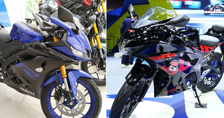Tầm giá 80 triệu, chọn Yamaha YZF-R15 V3 hay Suzuki GSX-R150?