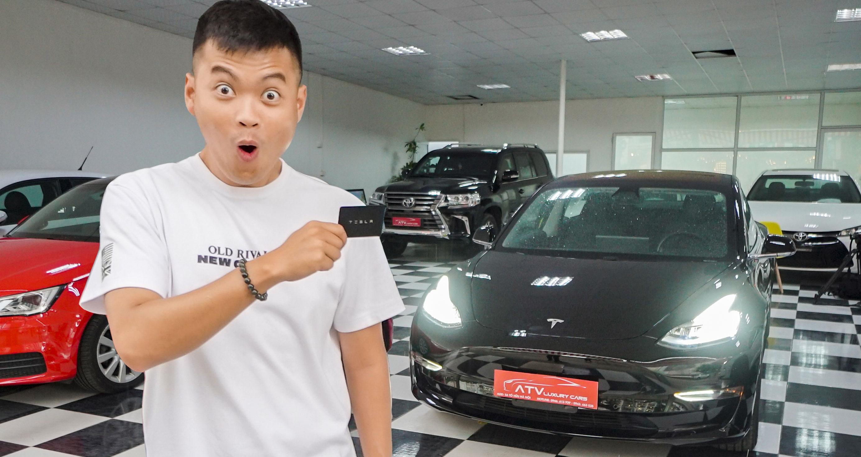 Những điều đặc biệt trên Tesla Model 3 tại Việt Nam