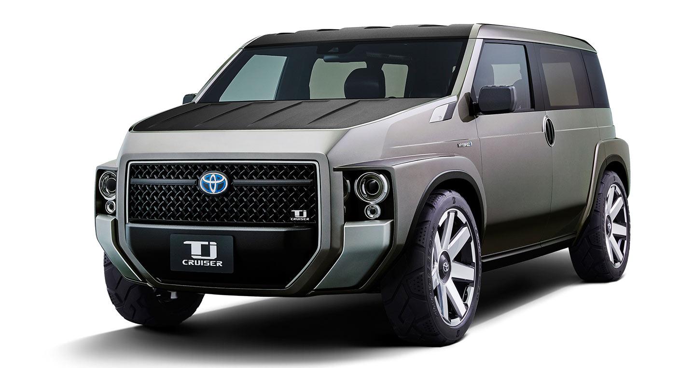 SUV mới Toyota Tj Cruiser sắp đi vào sản xuất, bán ra vào đầu năm 2020