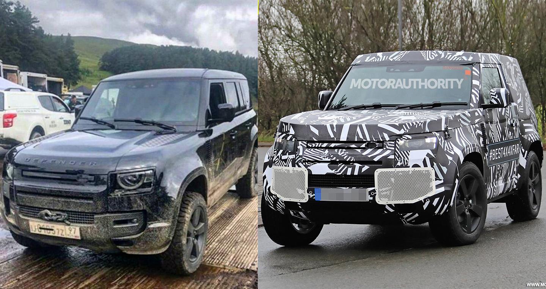 Land Rover Defender thế hệ mới lộ diện trong phim James Bond 25