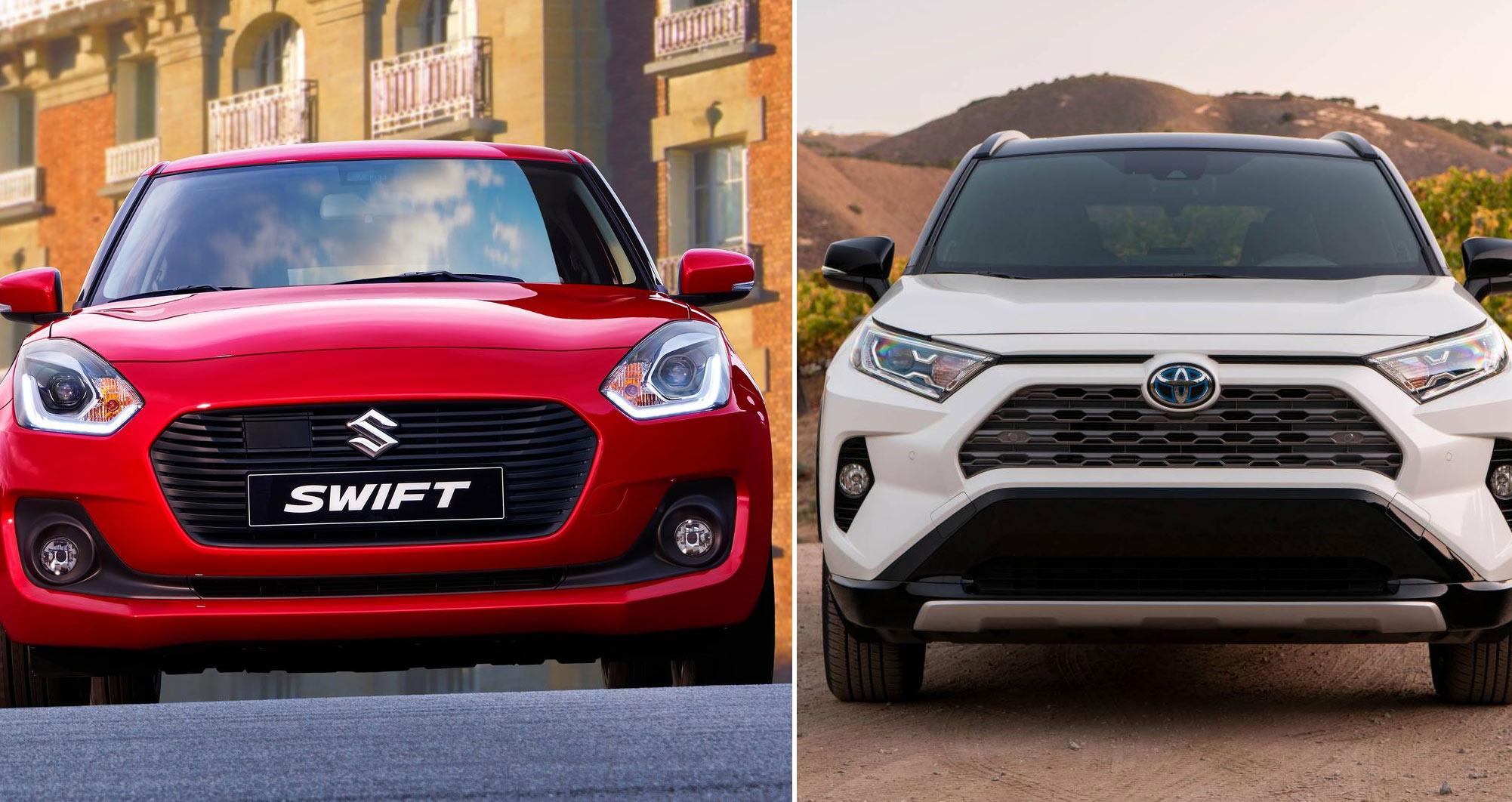 Toyota bắt tay Suzuki phát triển công nghệ xe tương lai
