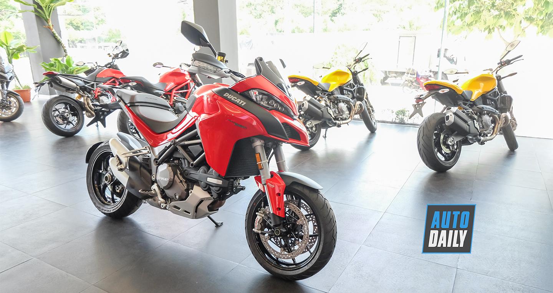 So sánh phiên bản S 2018 và Enduro 2019 của Ducati Multistrada 1260