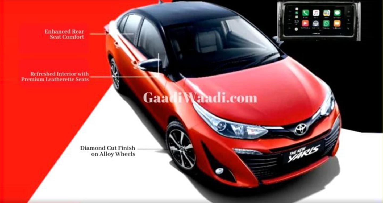Toyota Yaris và Vios sắp được nâng cấp nhẹ
