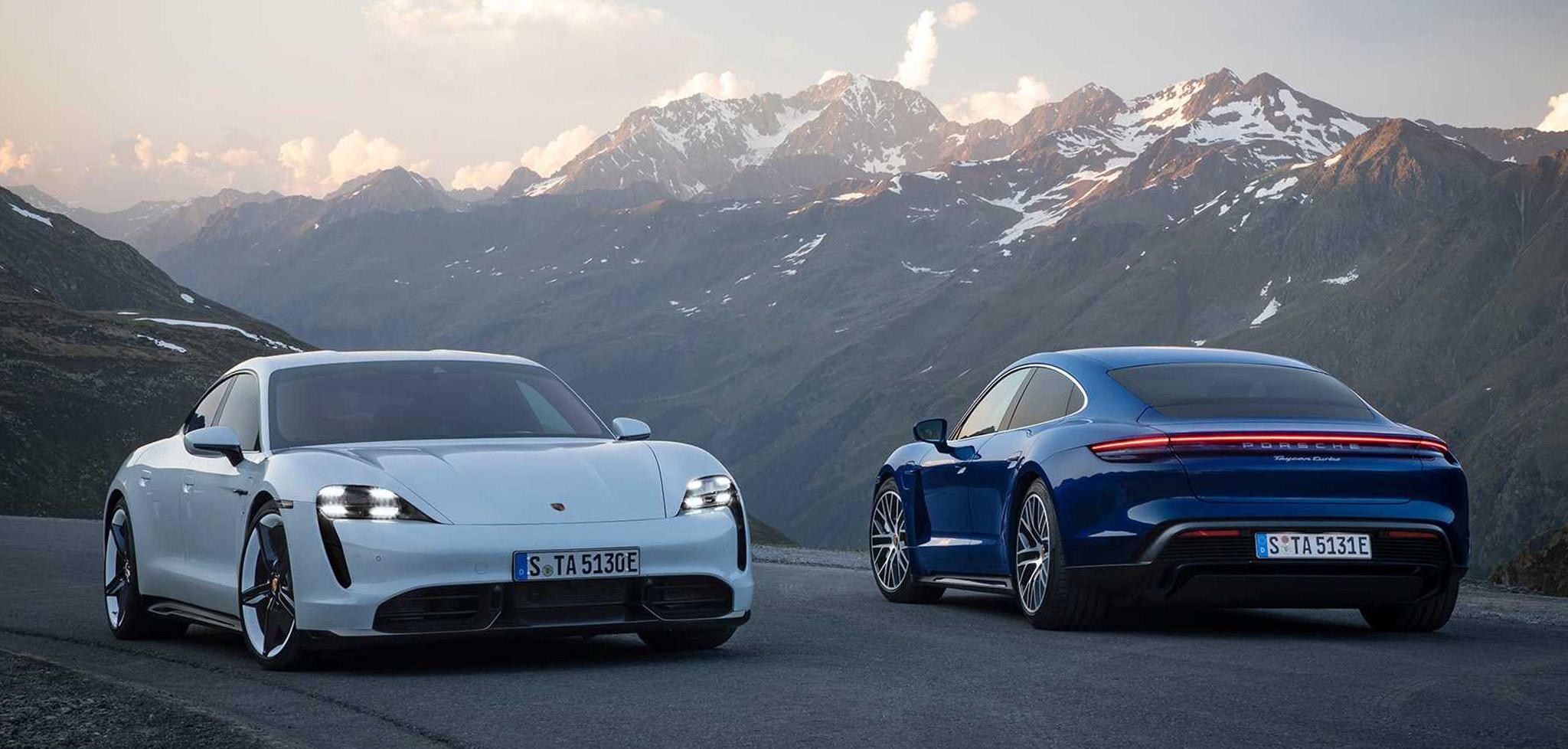 Porsche Taycan bắt đầu được sản xuất từ hôm nay