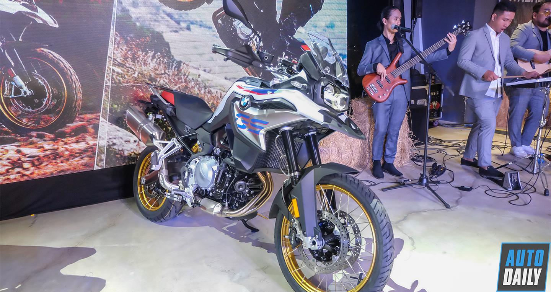 Chi tiết BMW Motorrad F 850 GS 2019 vừa ra mắt thị trường Việt