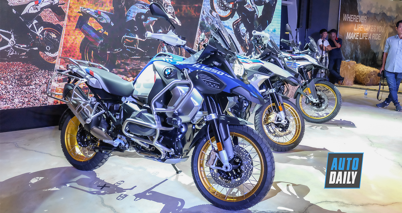BMW R 1250 GSA 2019 cập bến Việt Nam, động cơ lớn hơn, thêm công nghệ