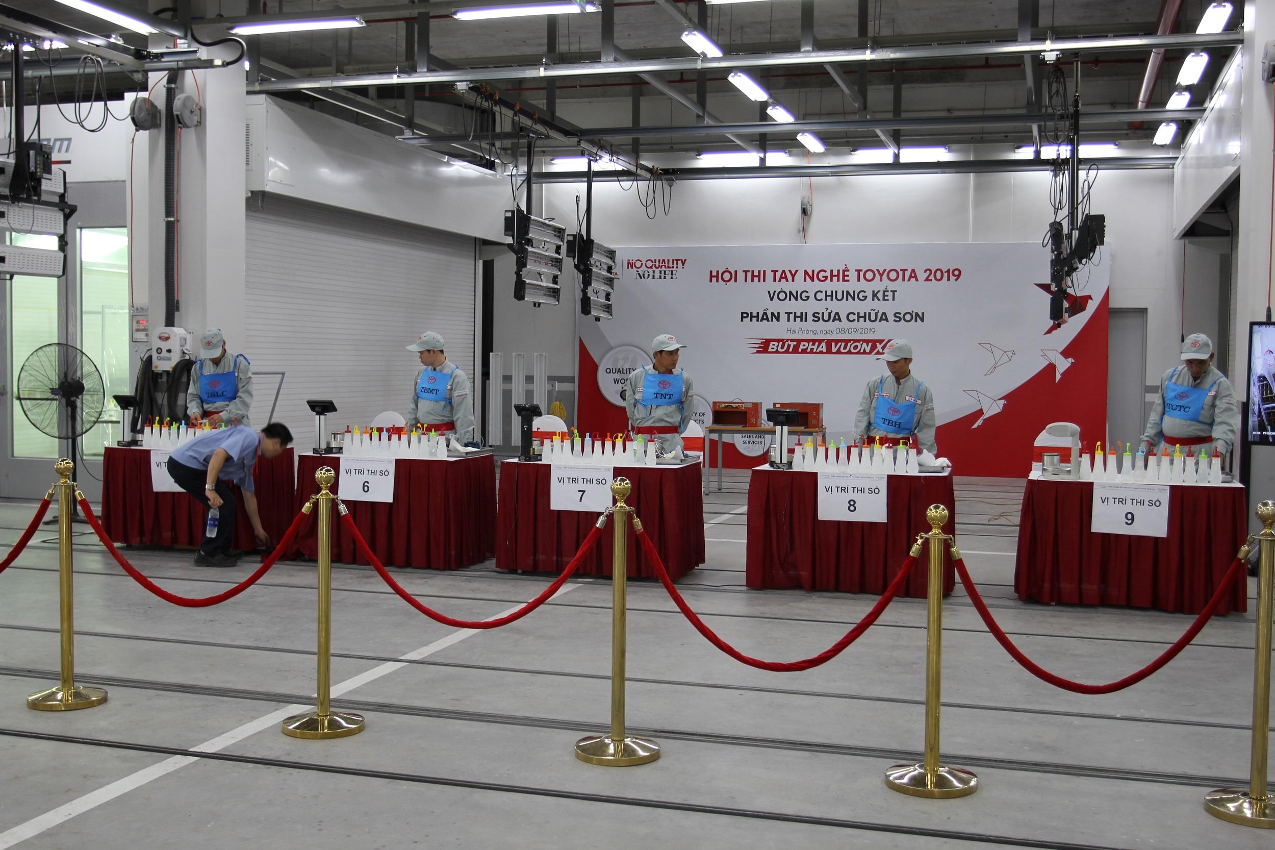 Toyota Việt Nam tổ chức vòng chung kết Hội thi tay nghề Toyota 2019