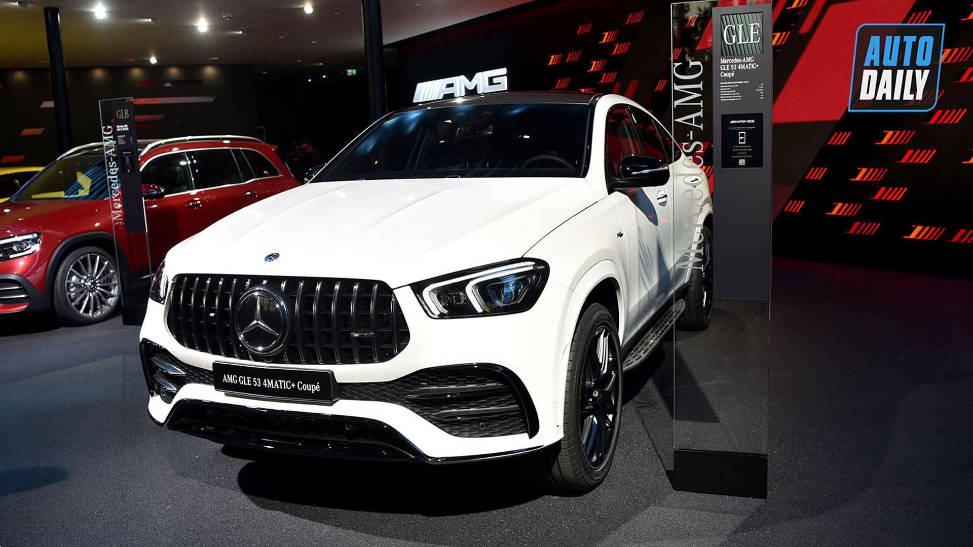Khám phá chi tiết Mercedes-Benz GLE Coupe 2020 tại Frankfurt Auto Show 2019