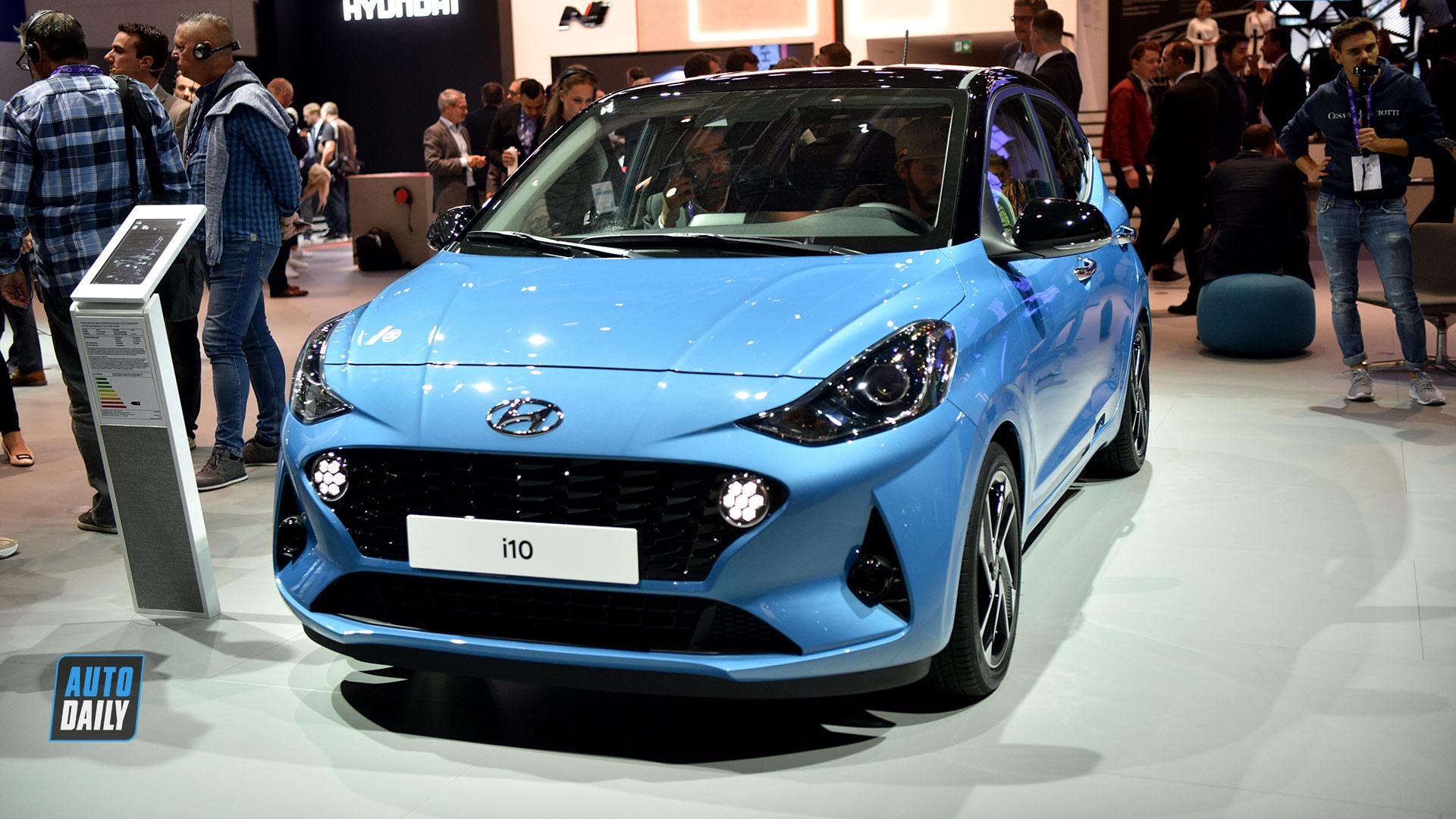 Xem trước Hyundai i10 2020 sắp về Việt Nam
