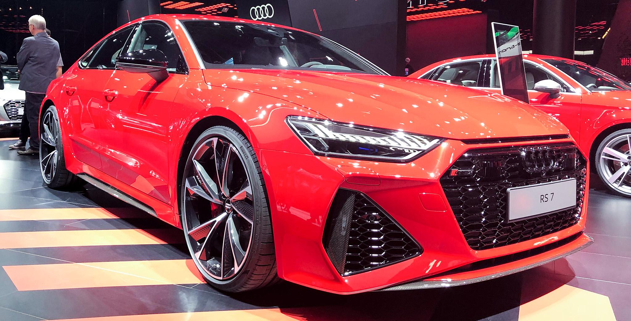Audi RS7 Sportback 2020 mạnh 600 mã lực chính thức ra mắt