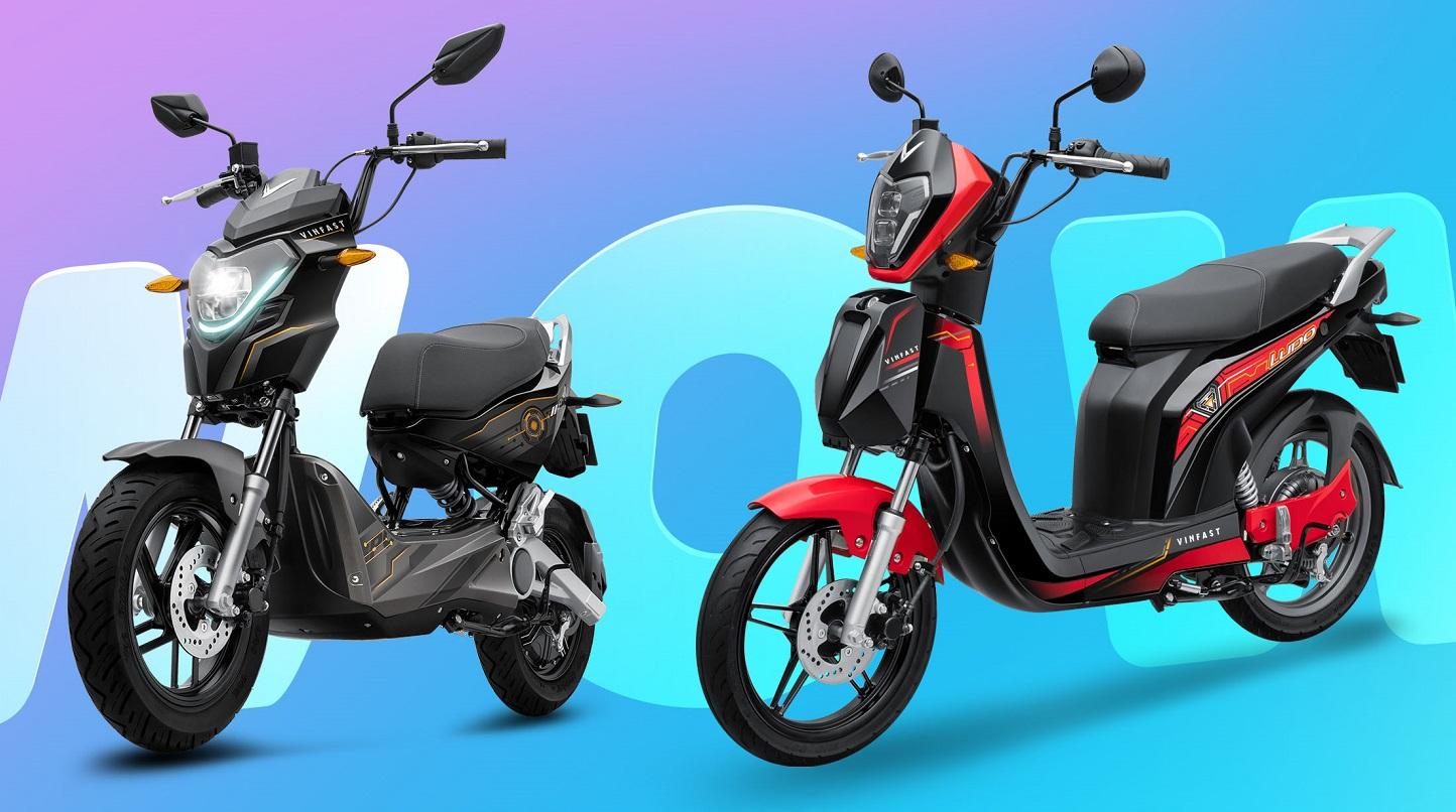VinFast ra mắt hai dòng xe máy điện mới Impes và Ludo