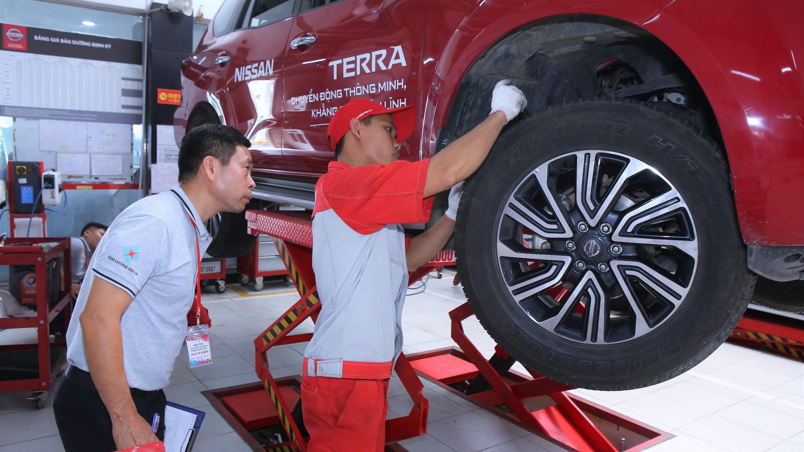 Nissan Việt Nam tổ chức Hội thi tay nghề Nissan năm 2019