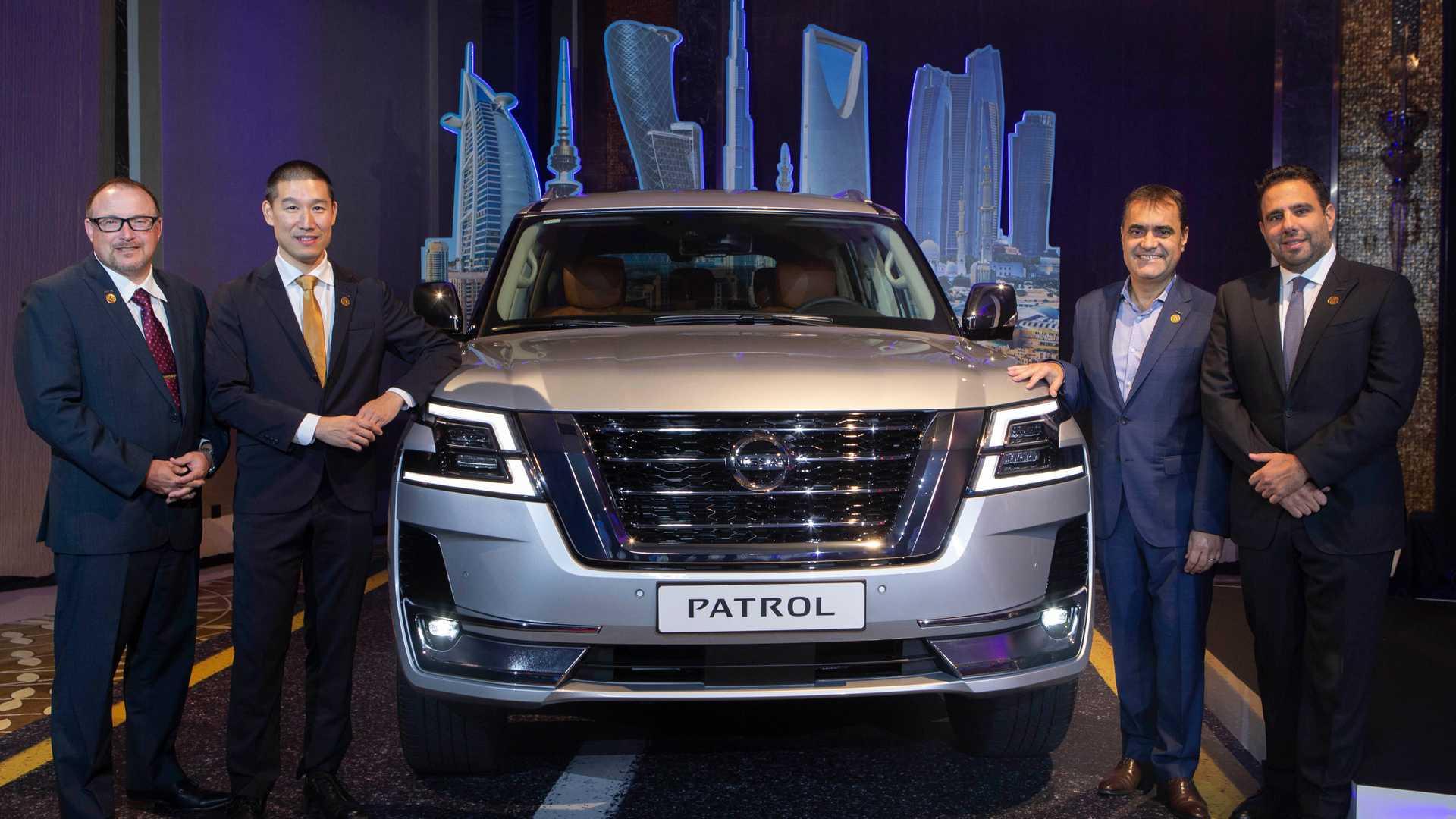 Nissan Patrol 2020 ra mắt với ngoại hình mới, nâng cấp công nghệ
