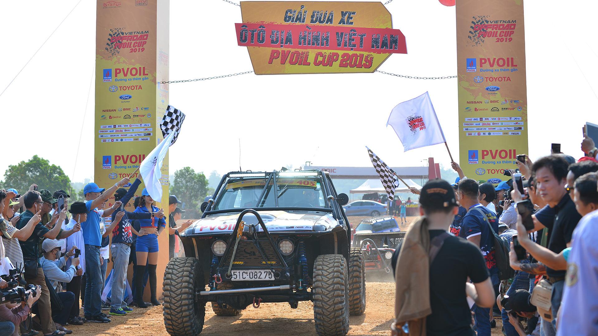 Giải đua xe off-road lớn nhất Việt Nam PVOIL VOC 2019 chính thức khởi tranh