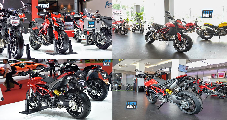 So sánh Ducati Hypermotard 939 2019 với Hypermotard 950 2019
