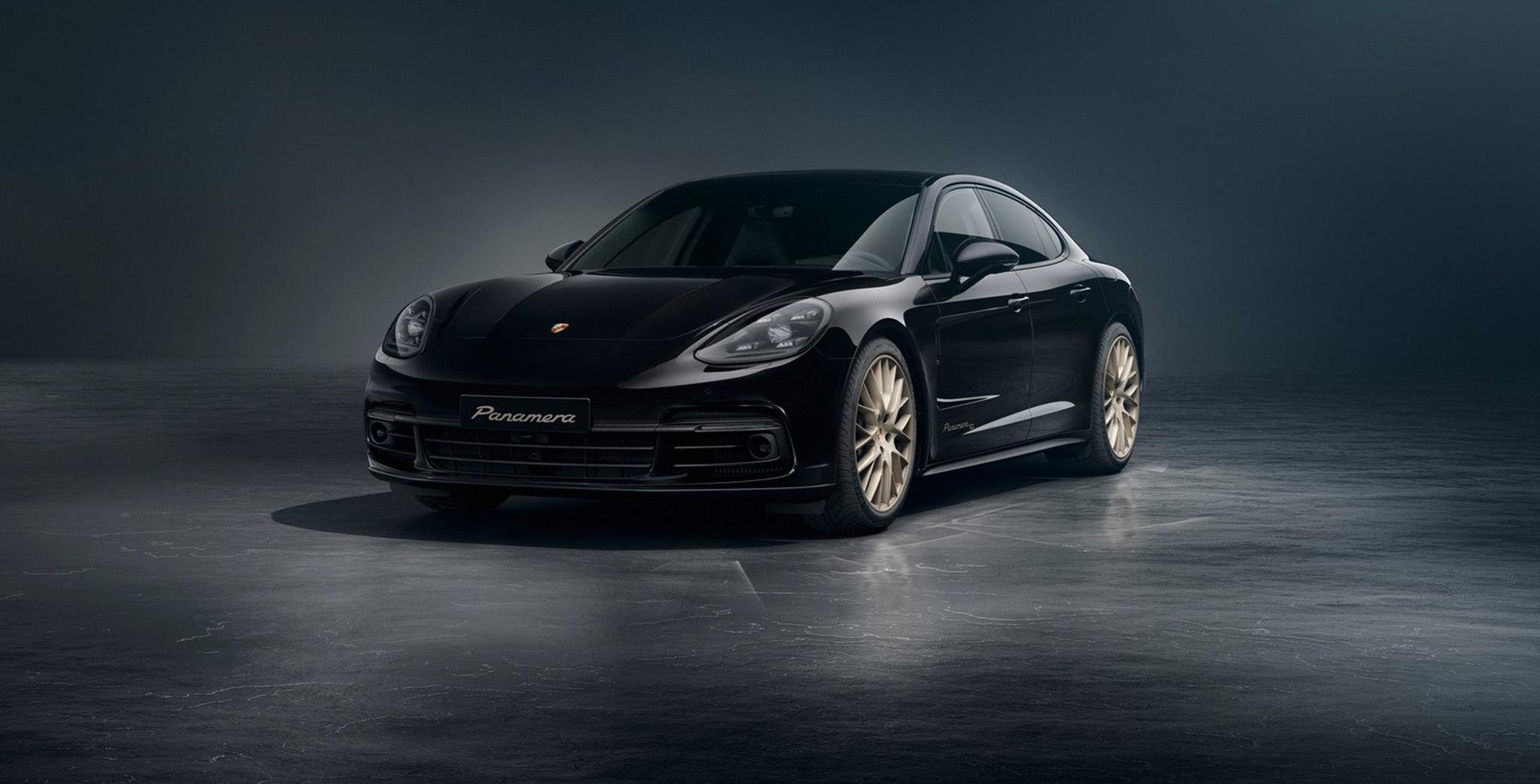 Porsche Panamera phiên bản kỷ niệm 10 năm giá từ 103.000 USD