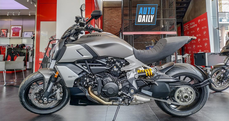 Ducati Diavel 1260 2019 đầu tiên tại Việt Nam, giá từ 799 triệu đồng