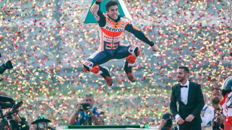 Marc Marquez vô địch MotoGP lần thứ 6