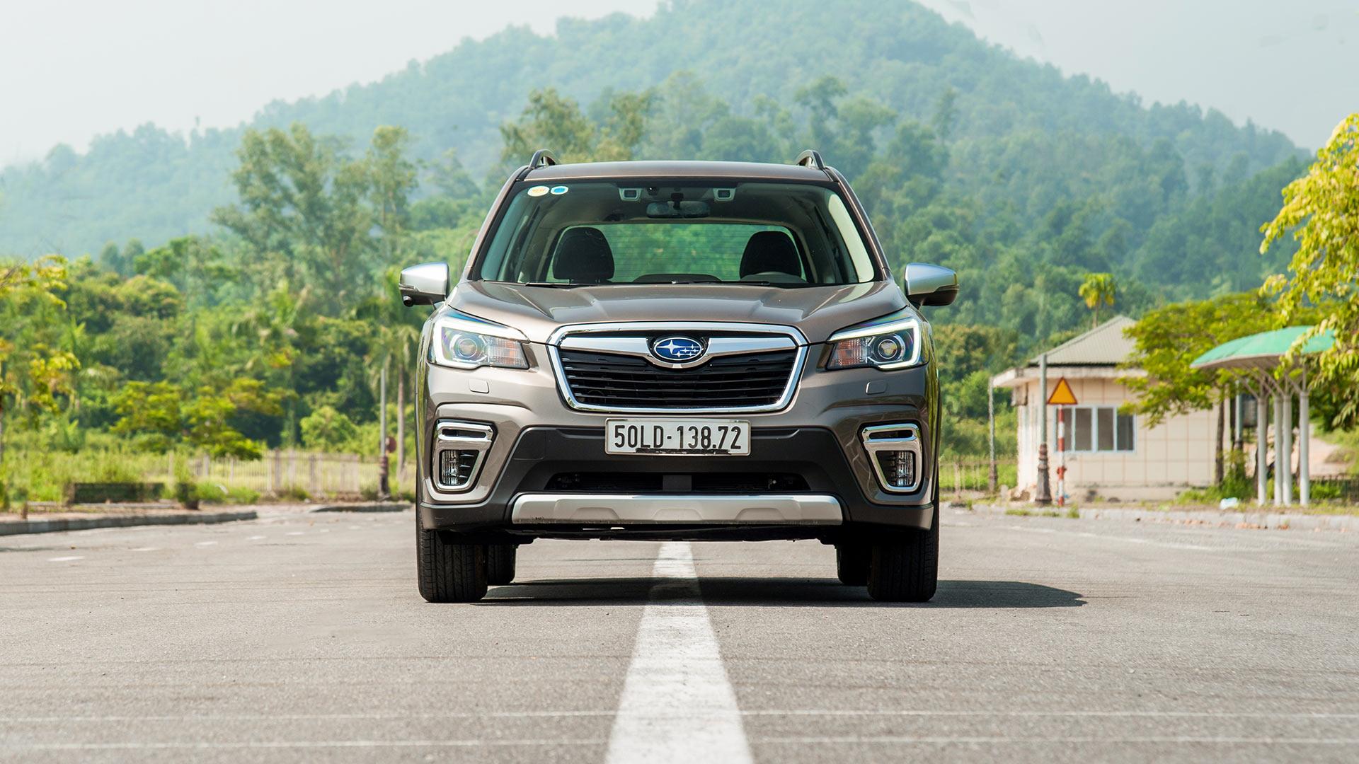 Những điểm nổi bật trên Subaru Forester 2019