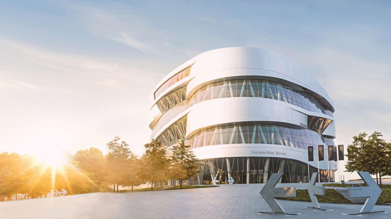 Ghé thăm bảo tàng Mercedes-Benz tại Đức