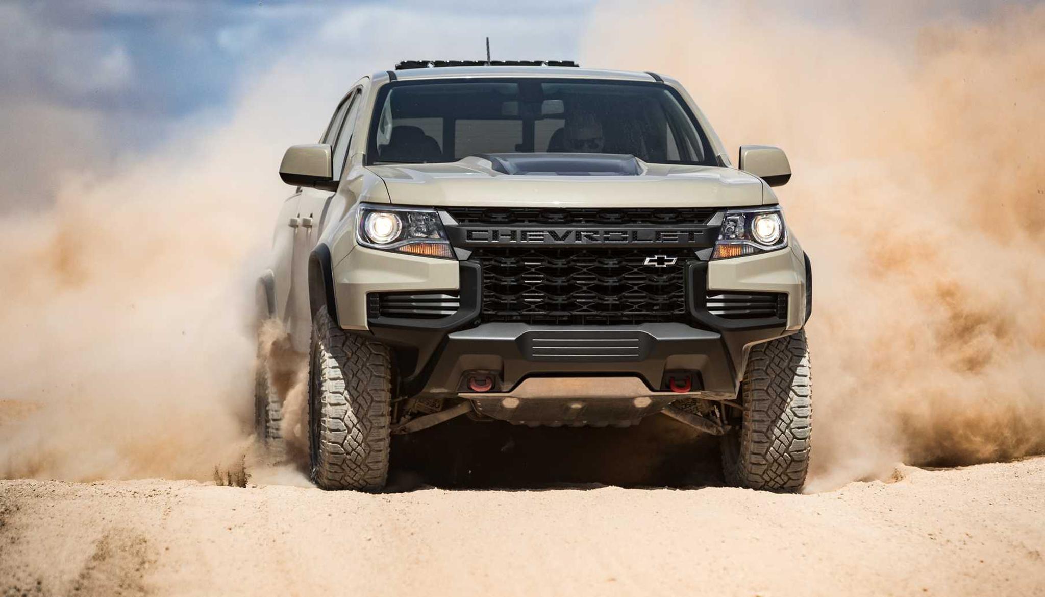 Chevrolet Colorado 2021 ra mắt với diện mạo hầm hố hơn