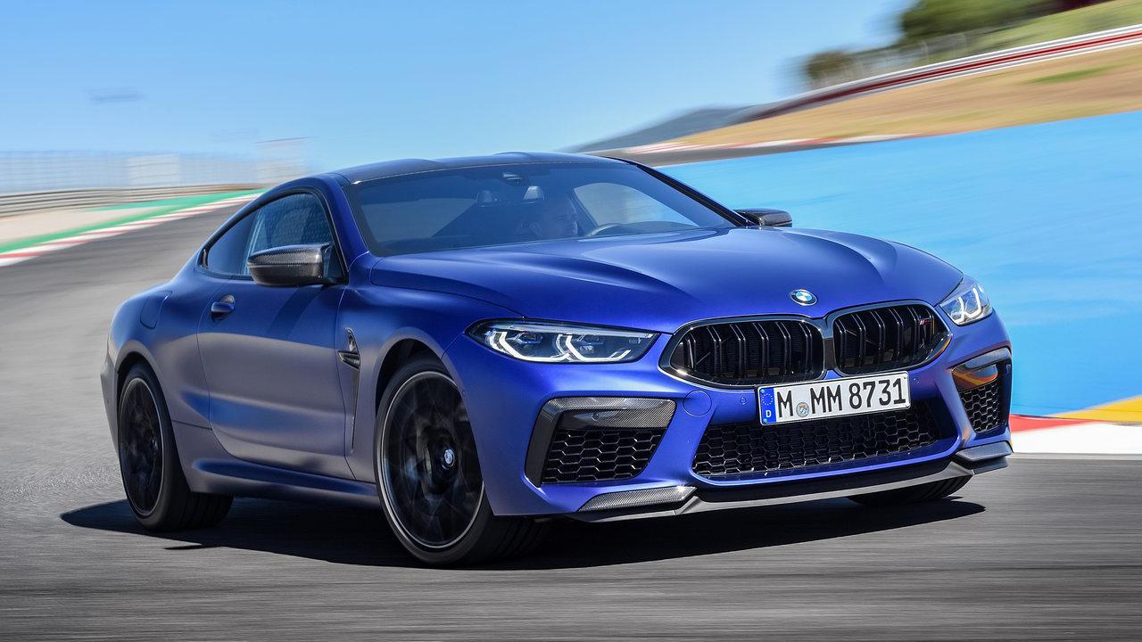 BMW M8 Competition 2020 tăng tốc 0-100 km/h chỉ trong 2,88 giây