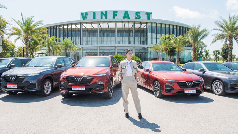 Ngô Thanh Vân trở thành đại sứ thương hiệu của VinFast