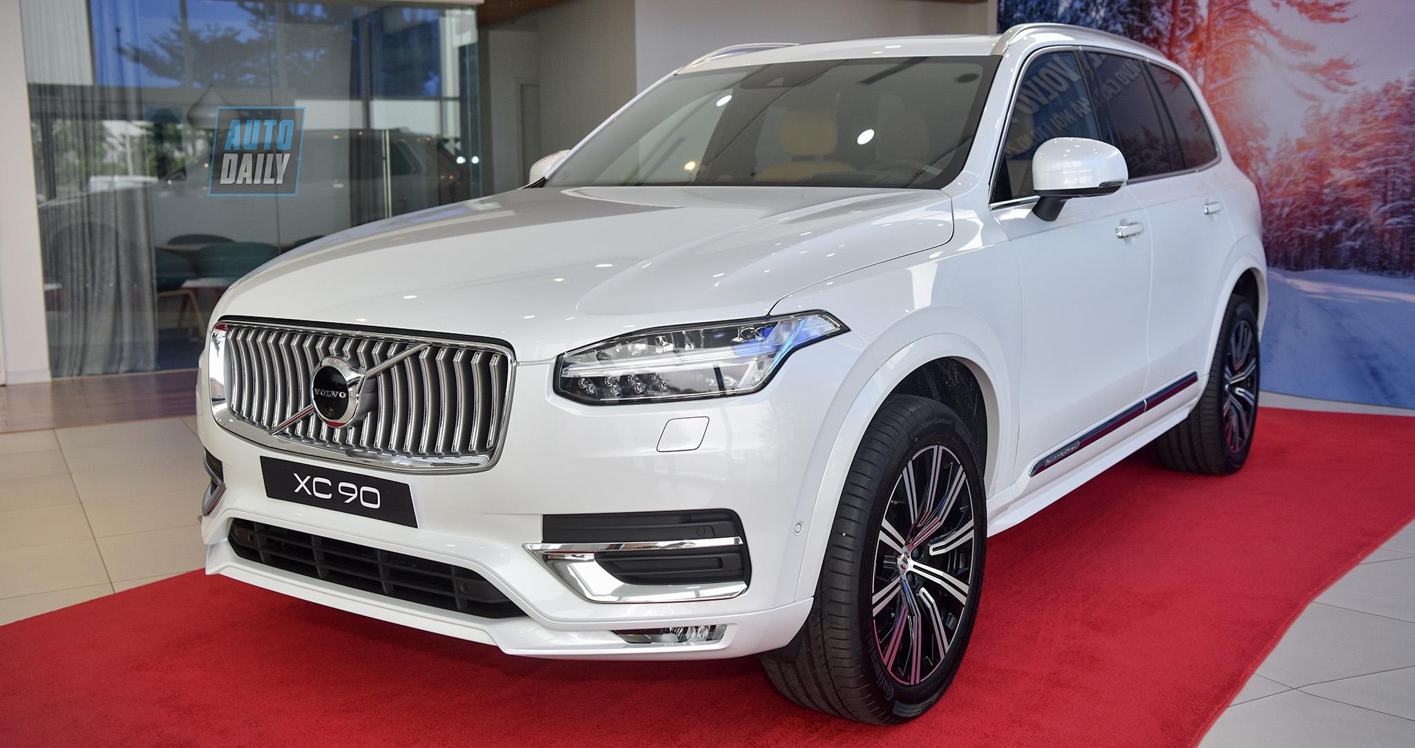 Volvo XC90 2020 về Việt Nam giá 3,99 tỷ, đấu BMW X5, Mercedes GLE