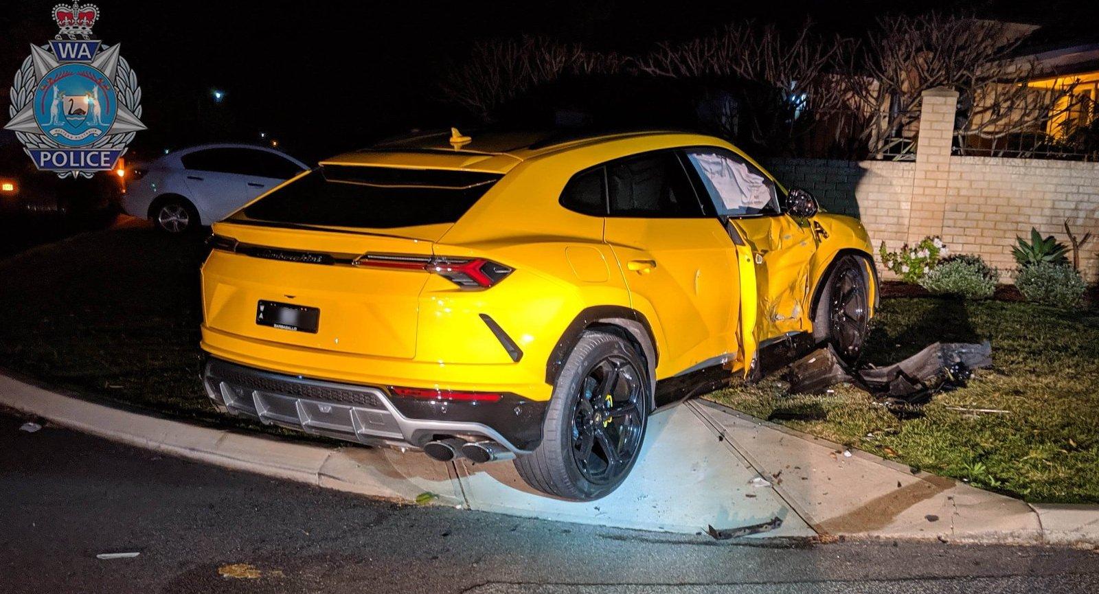 14 tuổi trộm Subaru Forester và đâm gục Lamborghini Urus khi bị đuổi