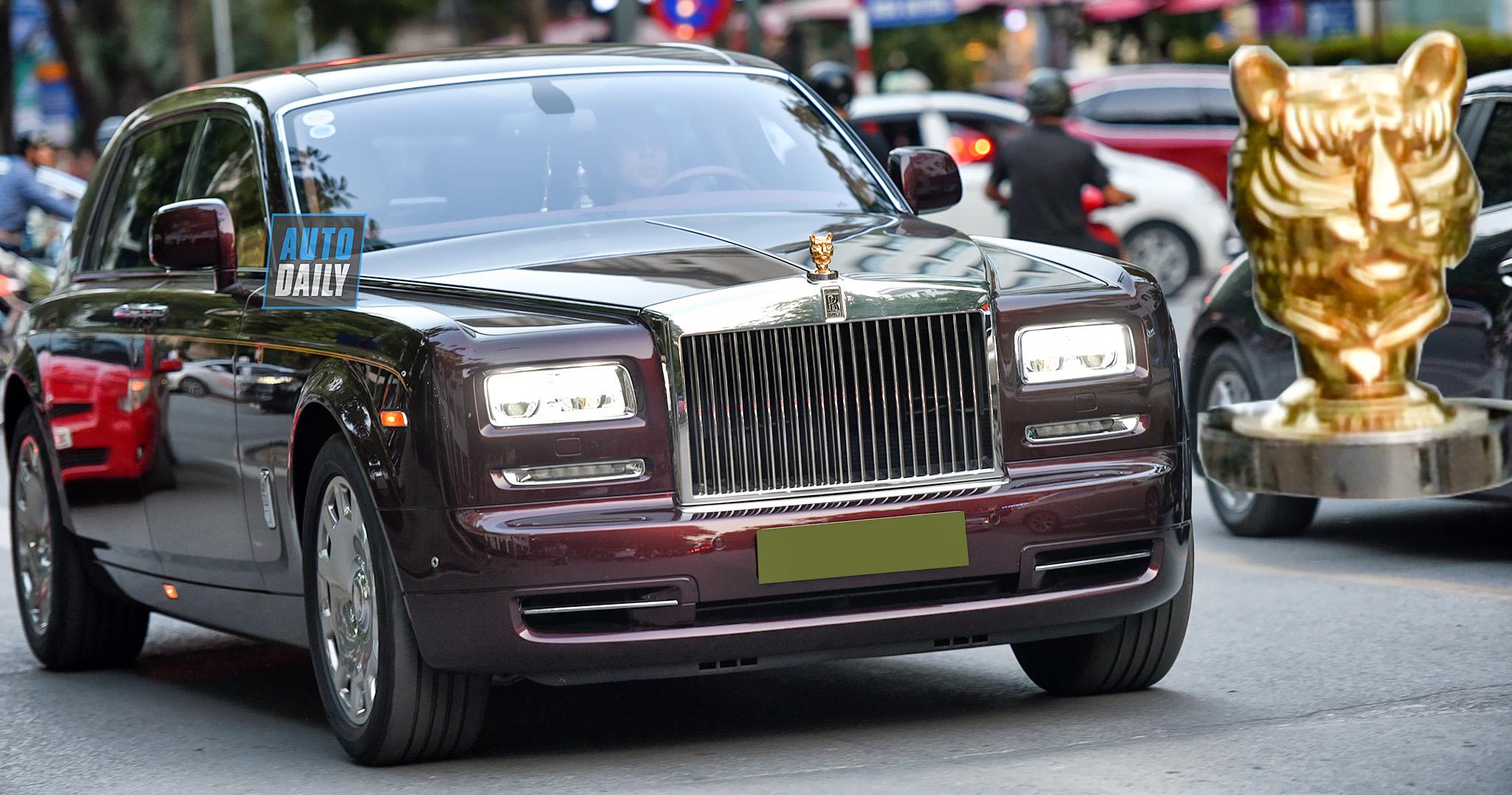 Rolls-Royce Phantom hơn 80 tỷ sở hữu biểu tượng đầu Hổ cực độc tại VN