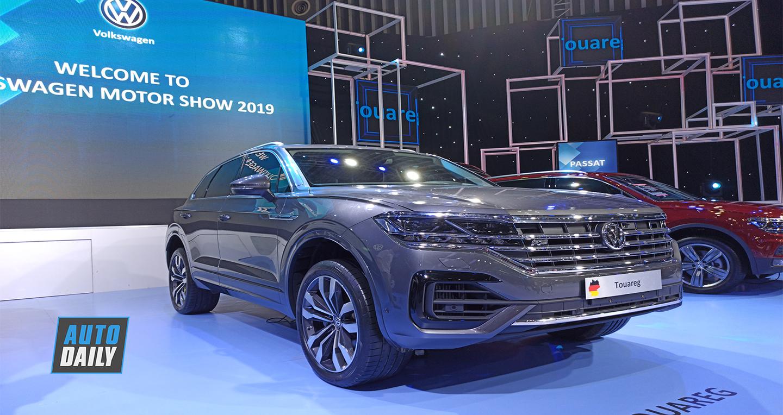 Volkswagen Touareg 2019 chốt giá từ 3,099 tỷ đồng tại Việt Nam