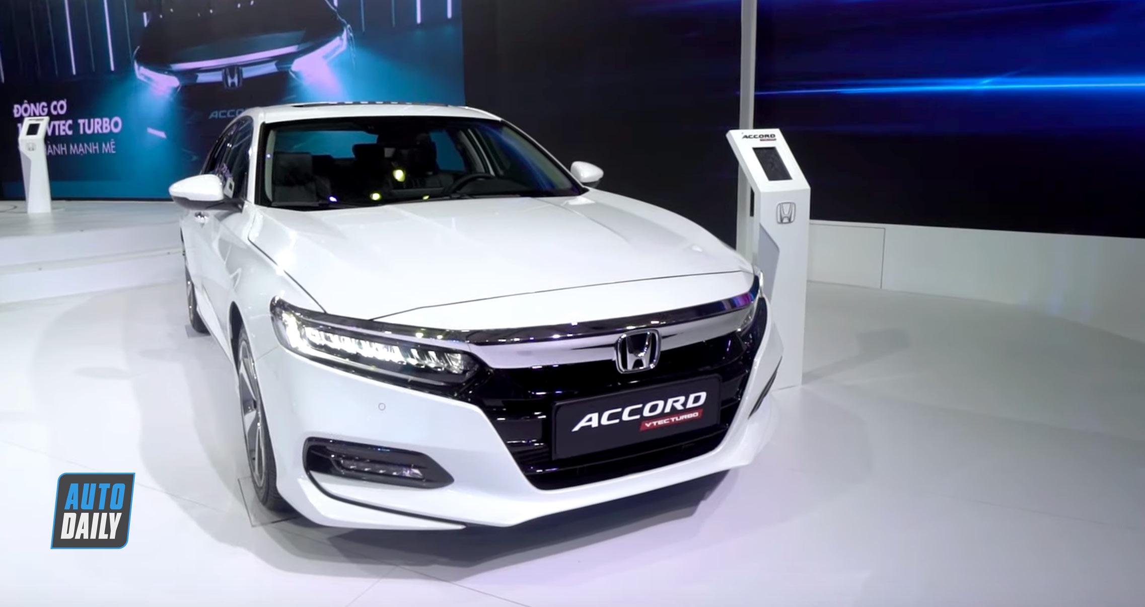 Đánh giá nhanh Honda Accord 2019 giá 1,3 tỷ đồng