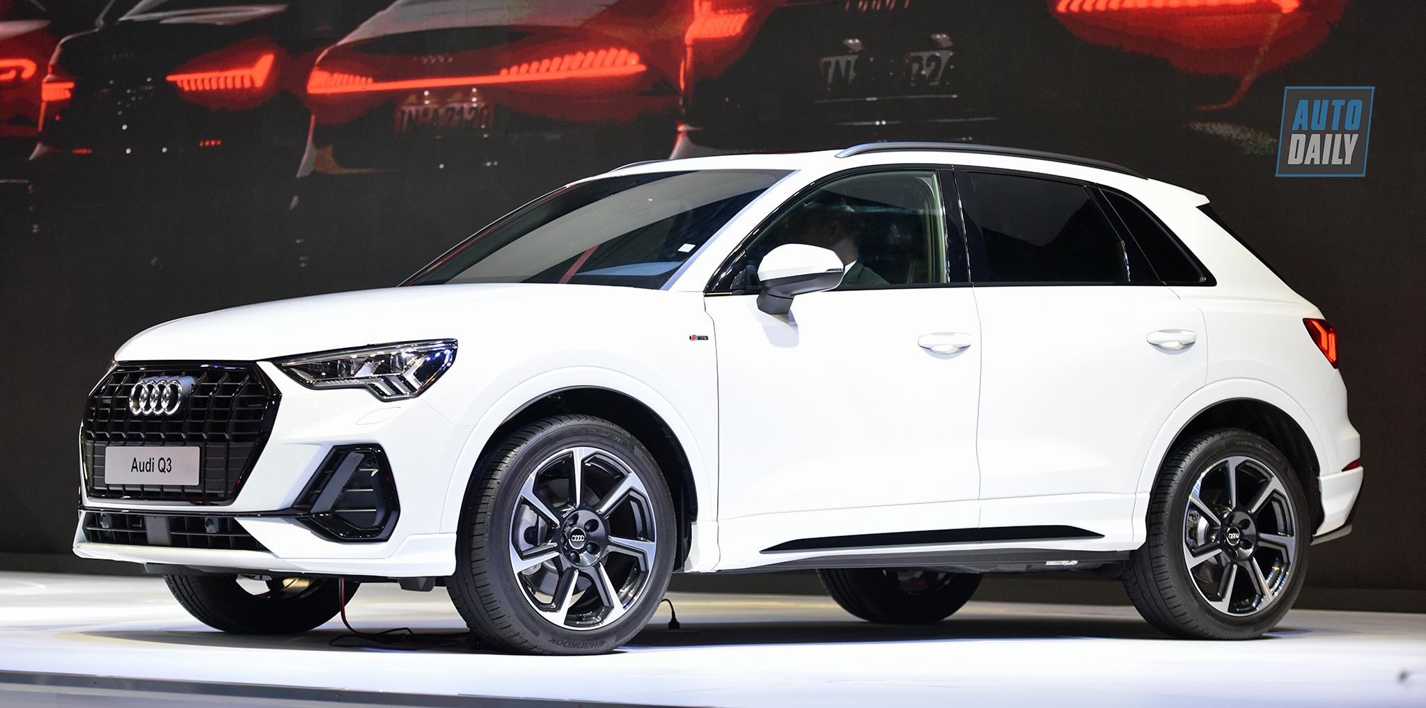 Soi kỹ Audi Q3 2019 tại Triển lãm Ô tô Việt Nam 2019
