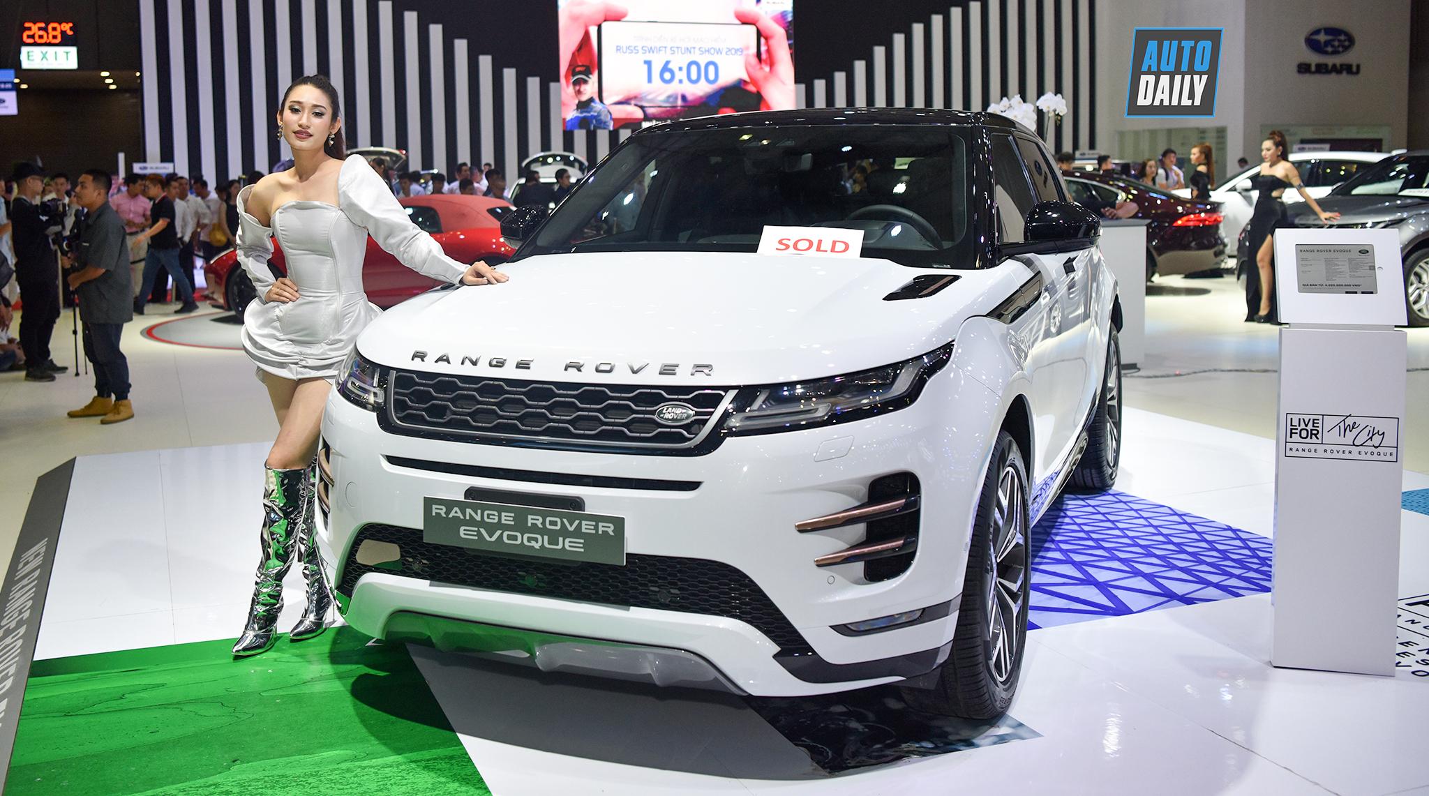 Range Rover Evoque mới ra mắt tại Việt Nam, giá từ 3,53 tỷ đồng