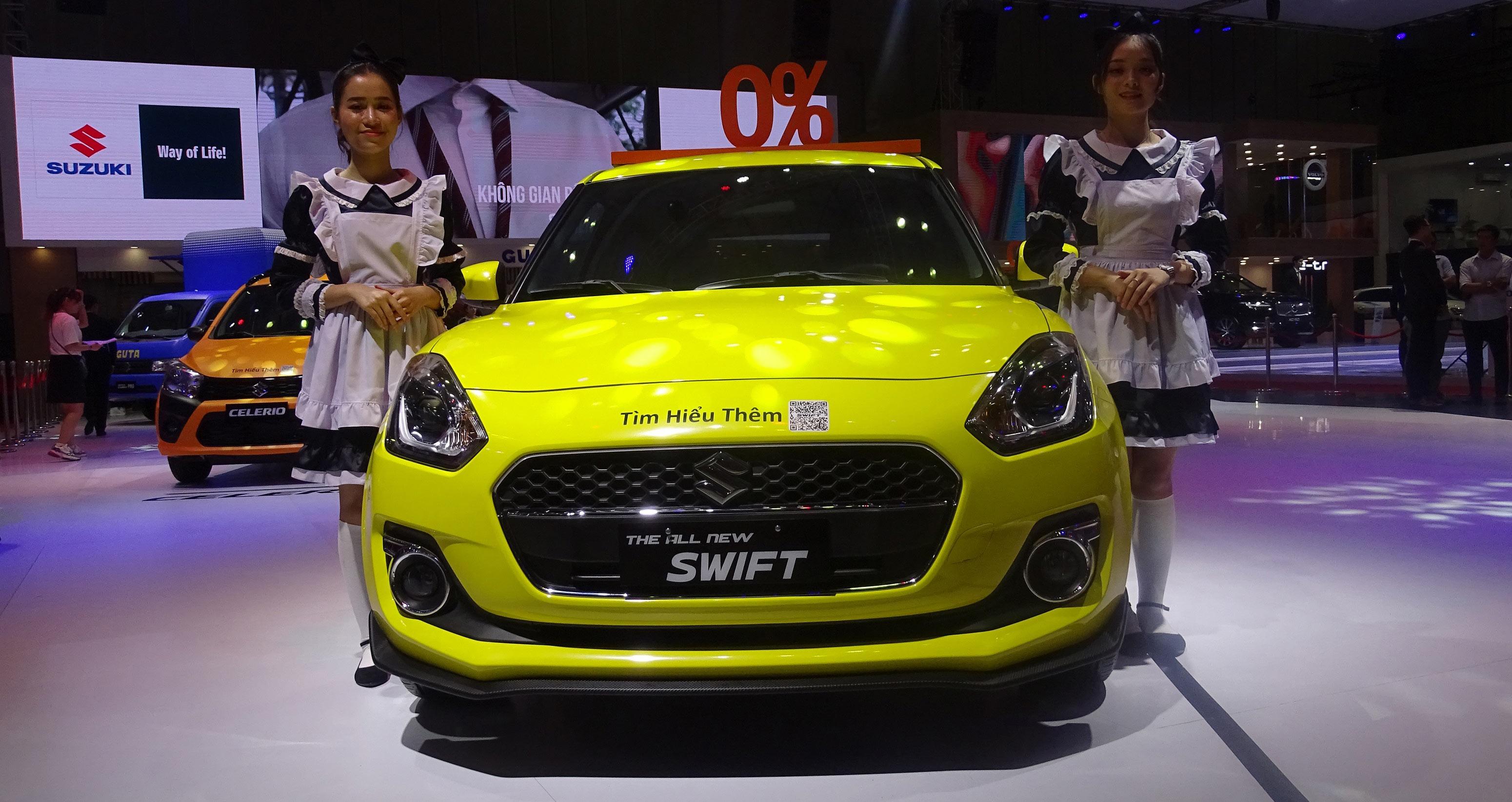 Suzuki mang 4 mẫu xe chủ lực đến Triển lãm Ô tô Việt Nam 2019