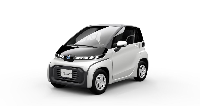 Toyota trình làng mẫu ô tô điện siêu nhỏ Ultra-compact BEV