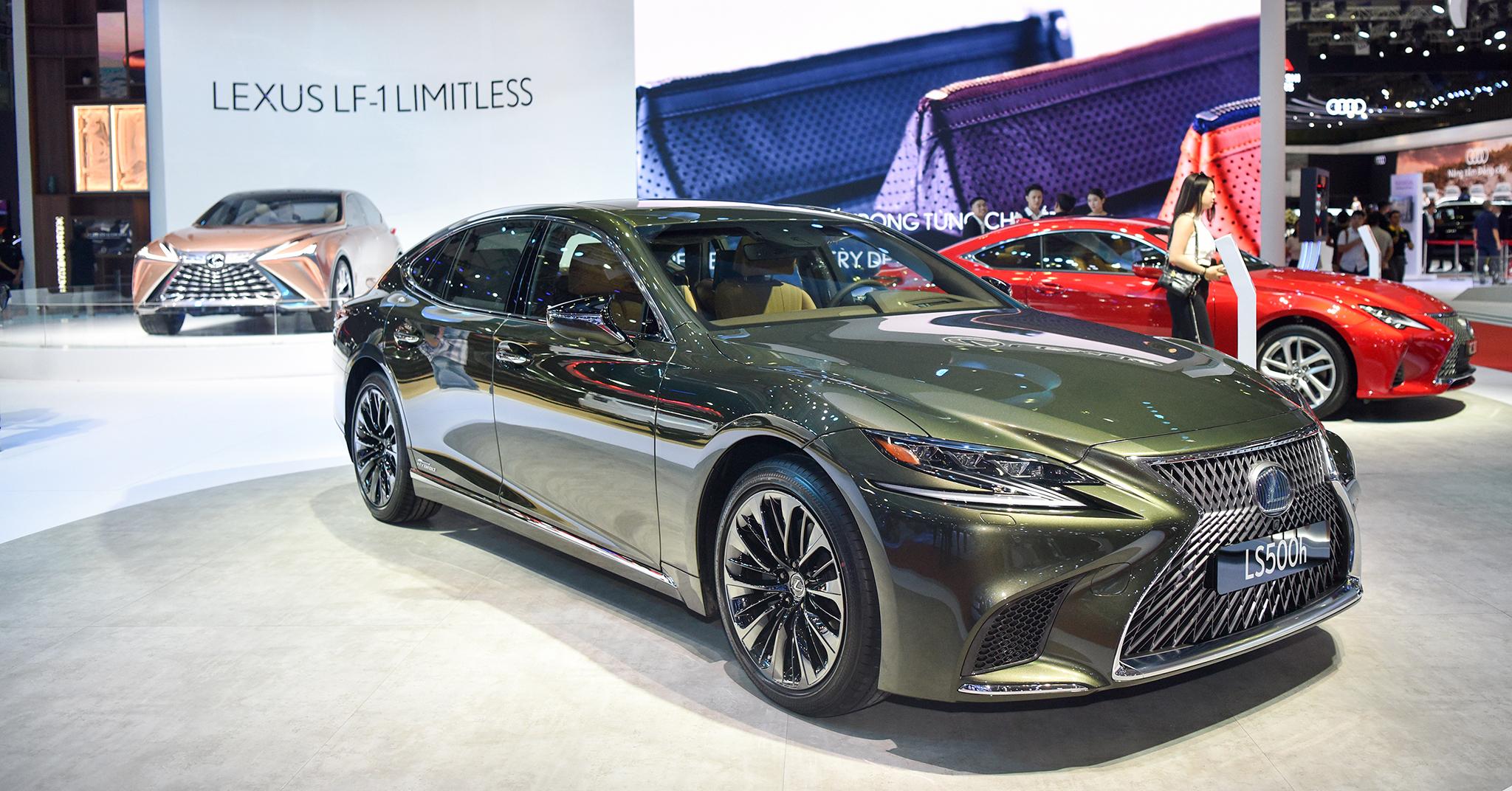 Không gian Lexus tinh tế và giàu cảm xúc tại VMS 2019