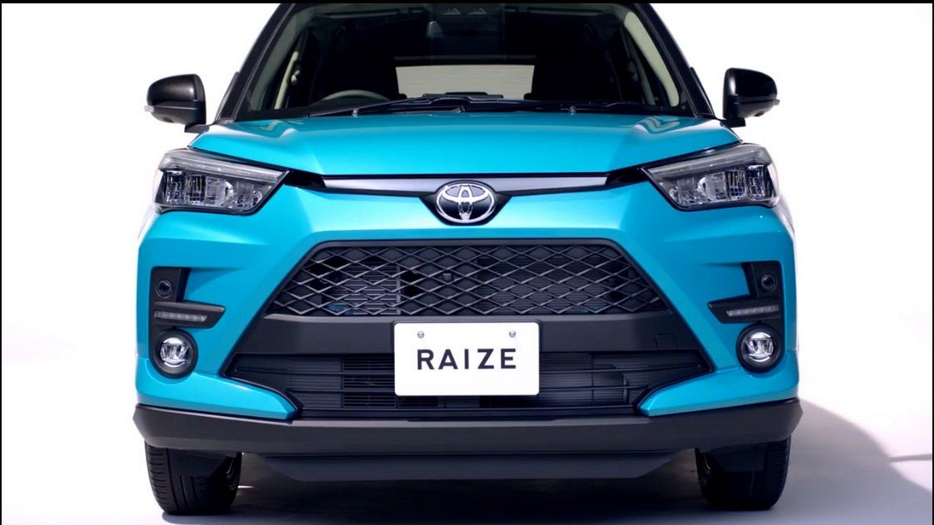 Toyota Raize 2020 – đàn em của RAV4 lộ diện