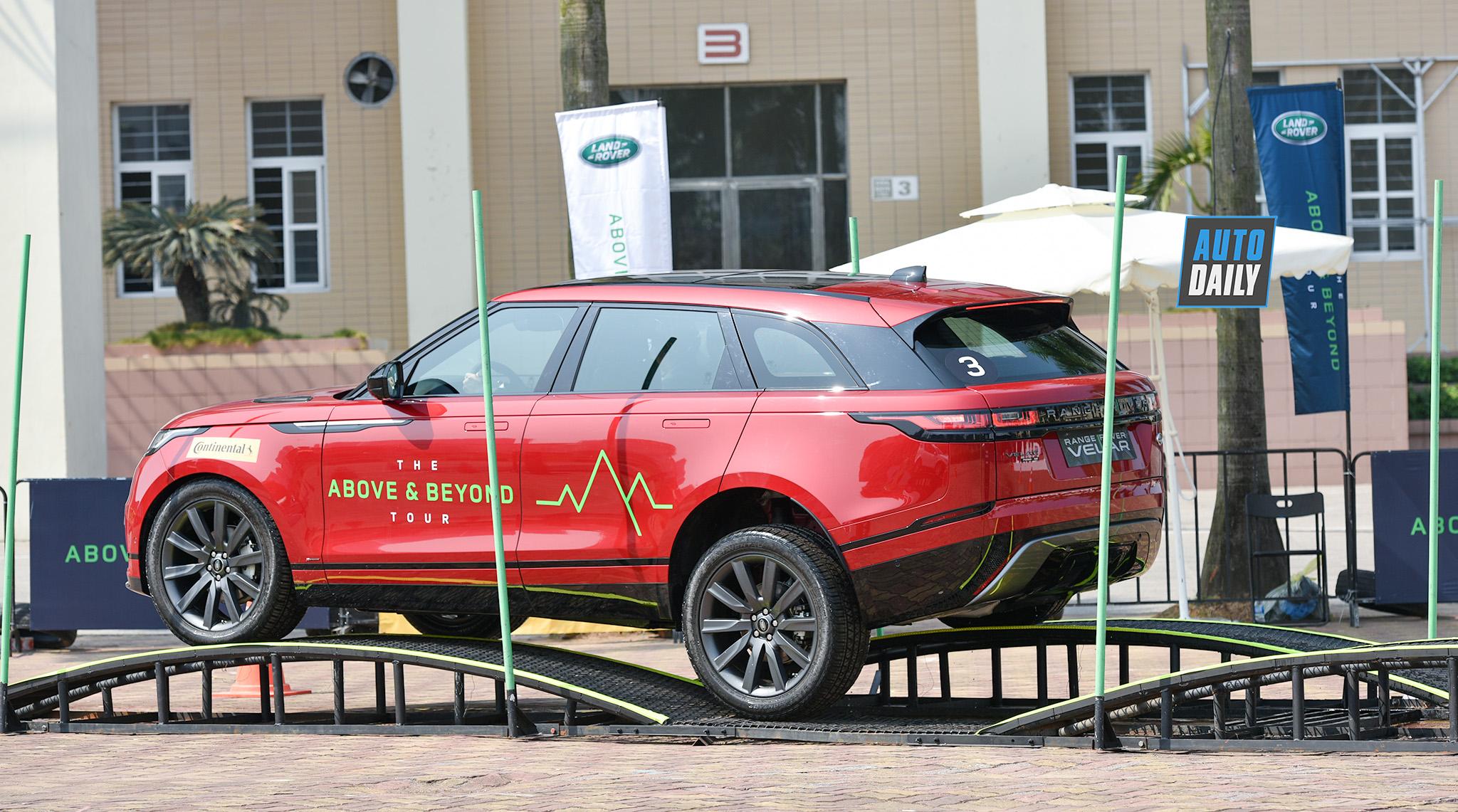 Above and Beyond Tour 2019 đến Hà Nội, cơ hội offroad bằng xe sang Land Rover