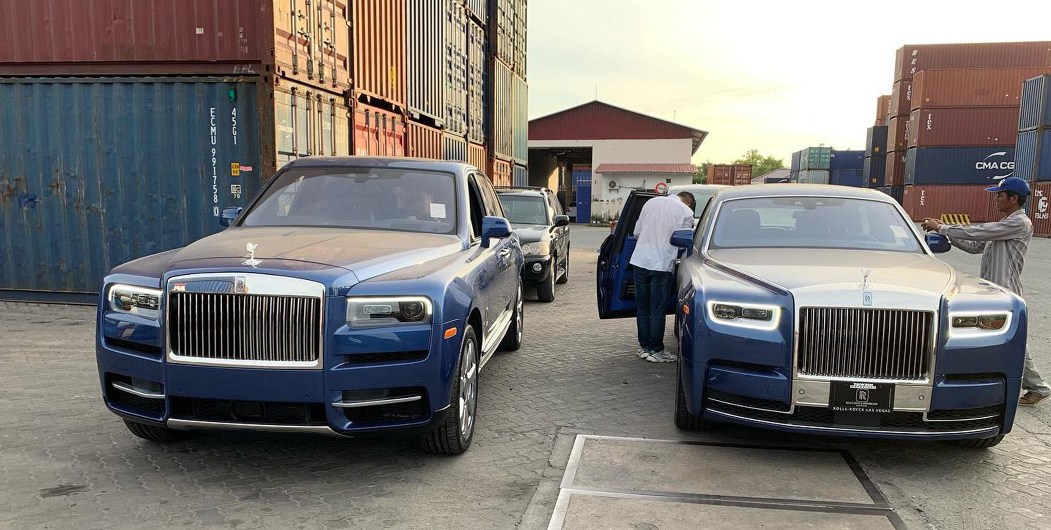Cặp đôi Rolls-Royce trùng màu về tay đại gia Campuchia