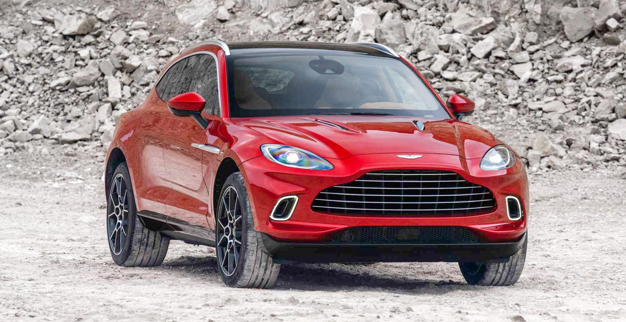 SUV đầu tiên của Aston Martin chính thức ra mắt, mạnh 542 mã lực