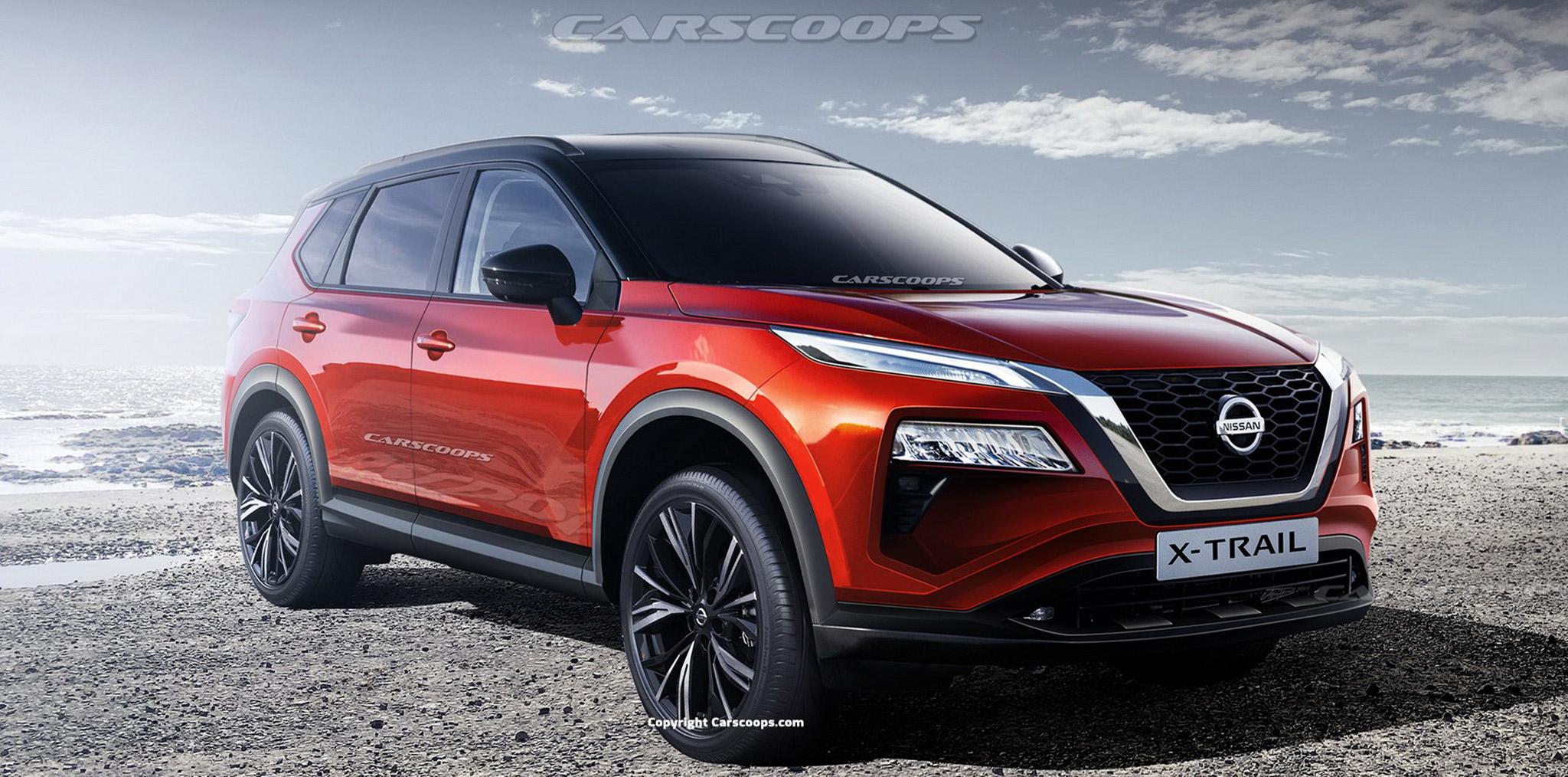Xem trước thiết kế của Nissan X-Trail 2021, đối thủ Honda CR-V