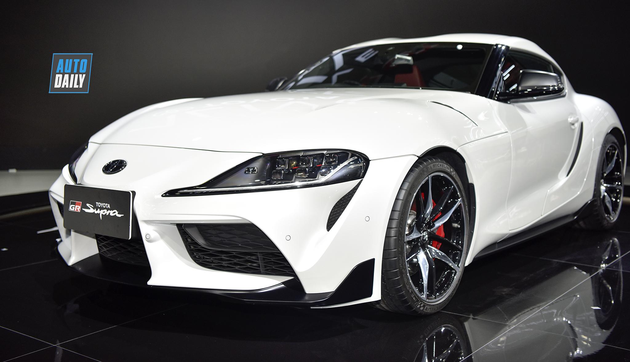 Toyota GR Supra 2020 chính thức ra mắt tại Thái Lan, giá 165.420 USD