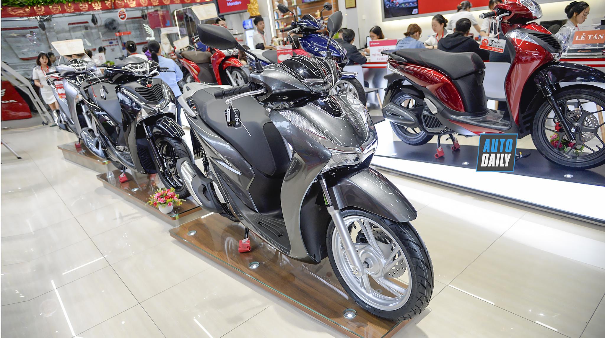 Chi tiết Honda SH 125 ABS 2020 giá 79 triệu tại đại lý
