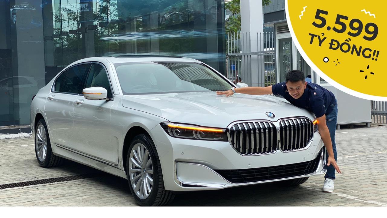 Đánh giá BMW 740Li 2020 giá gần 5,6 tỷ đồng: Siêu công nghệ cho doanh nhân