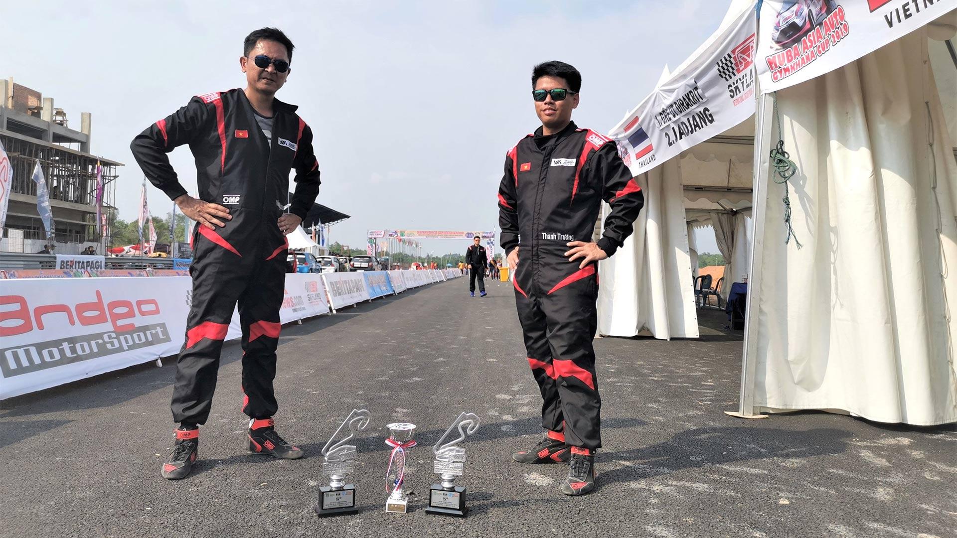 Hai tay đua Việt lọt Top 10 cuộc đua tốc độ theo chuẩn FIA