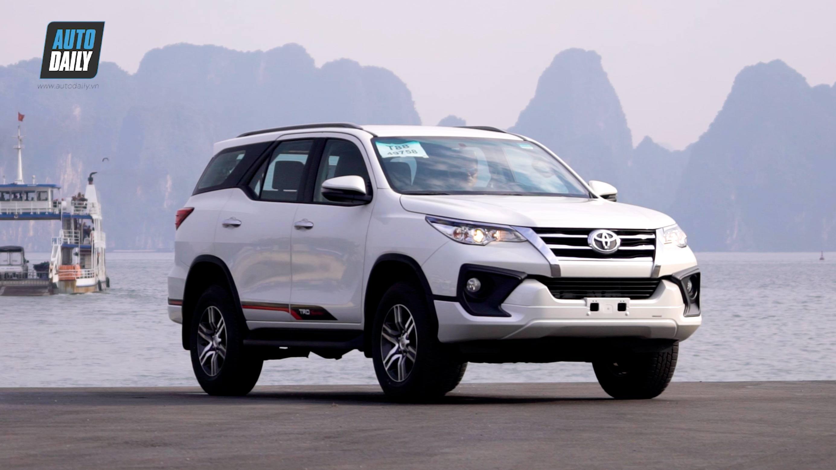 Đánh giá Toyota Fortuner TRD lắp ráp trong nước: Thêm CHẤT, thêm HẤP DẪN