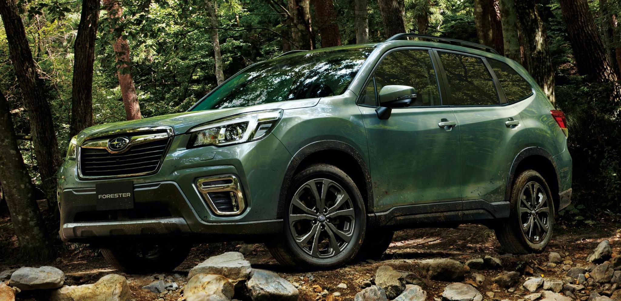Subaru Forester phiên bản X-Edition ra mắt với nội thất chống nước