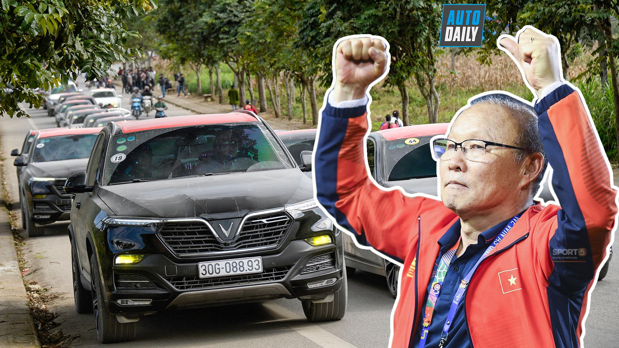 VinFast Lux SA2.0 là 1 trong 4 xe thầy Park nhận được từ khi dẫn dắt đội tuyển Việt Nam